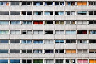 Gebäudefassade mit Windows