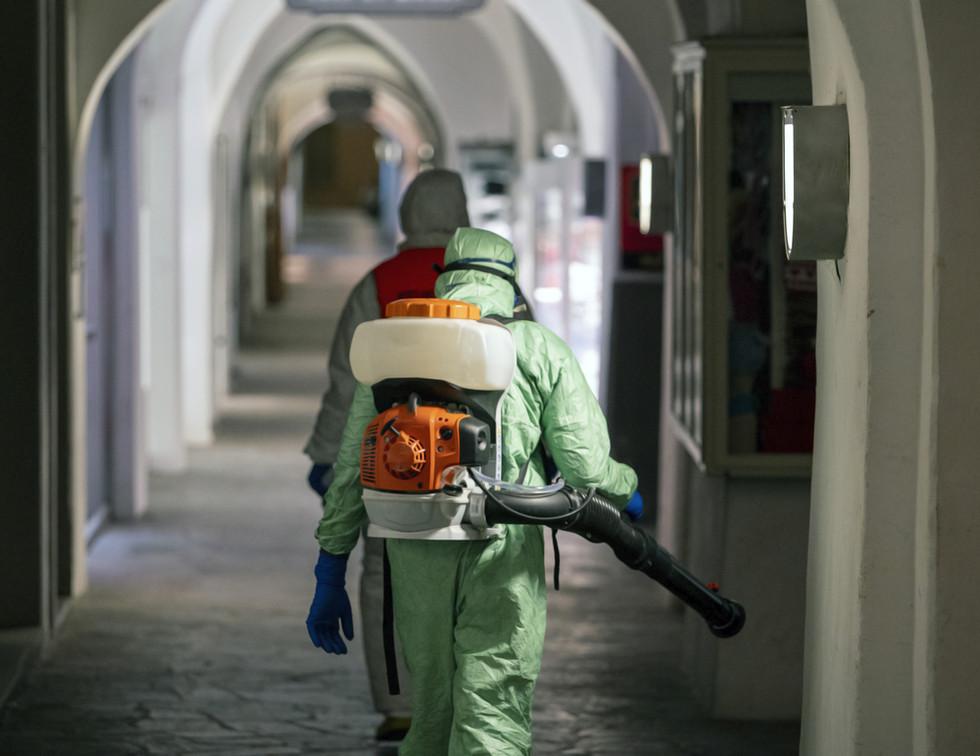 Disinfecting Buildings