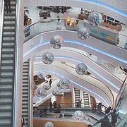 Shopping Mall Escalators