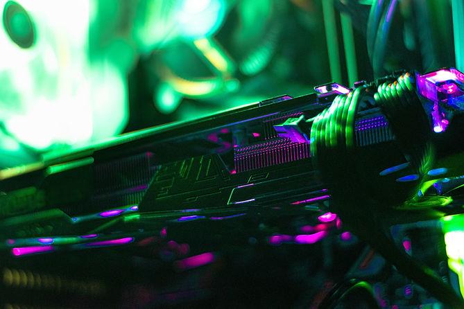 輝くゲーム機器