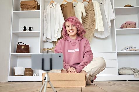 Vlogger de mode