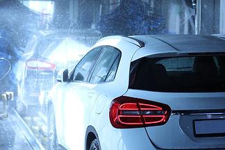 Linha de lavagem de carro