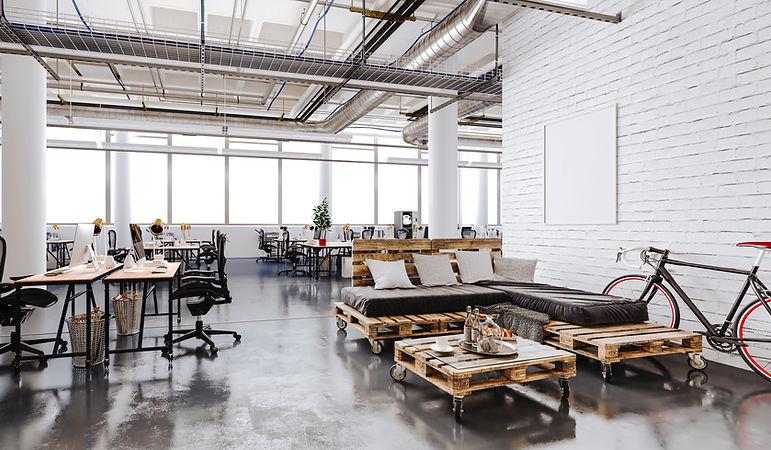 Renoviertes Büro