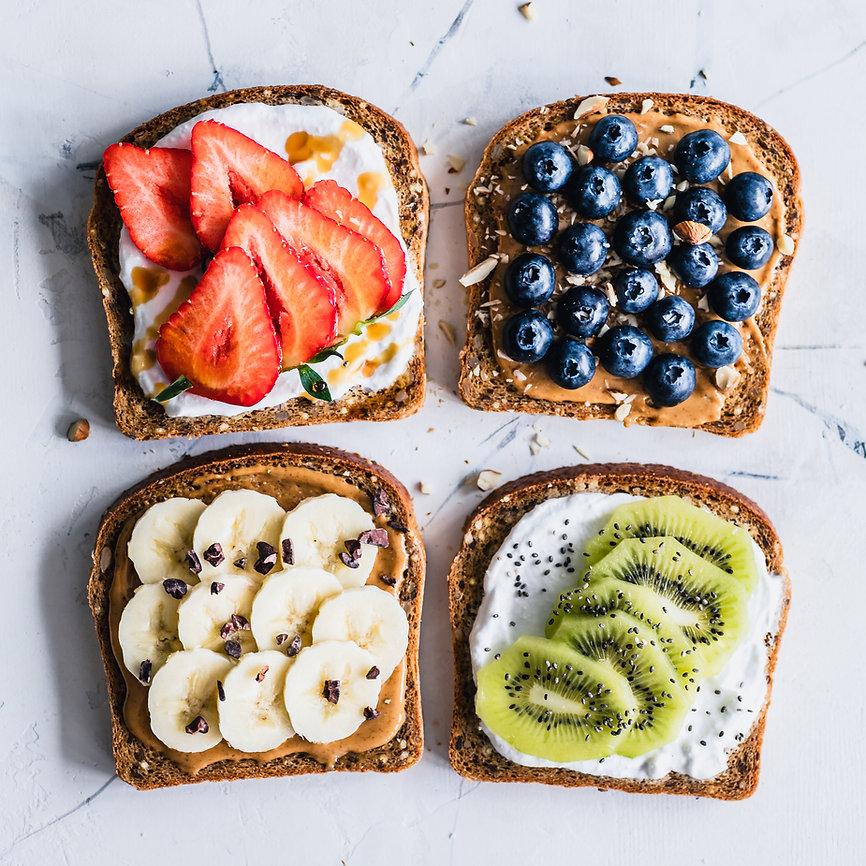 Fruit Sandwiches