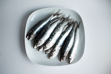 Salty BBQ Sardines with Jurassic Salt