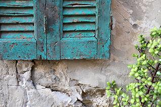 Rusty Window Frame