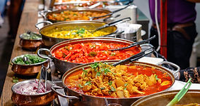 Curries at Camden Market London