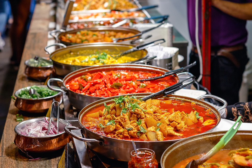 Takeaway curry for coeliacs