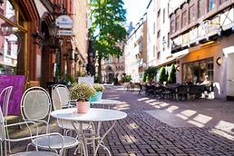 Café historische Altstadt