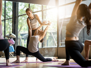 Quelques postures de yoga