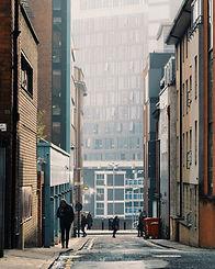 Morning in City