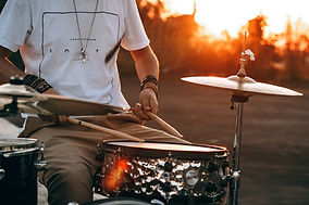 Sunset Drumming