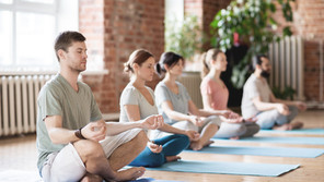 Yoga, plants and happiness