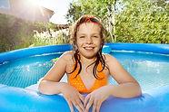 Backyard Pool Girl