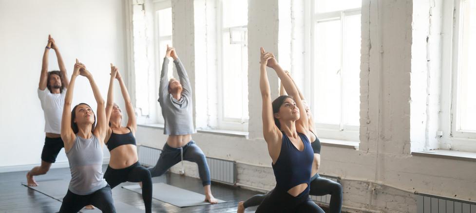 yoga Guerrero uno