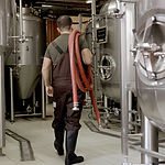 Beer Maker in Brewery