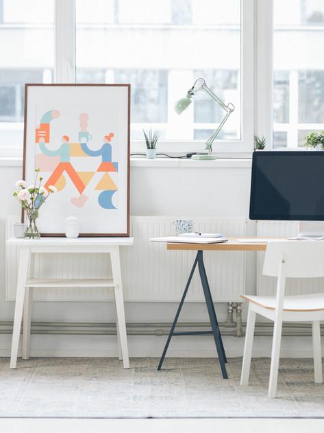 Fabriquer son bureau sur mesure, simple, pas cher et pratique !
