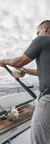 Fisherman on Fishing Boat