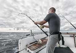 Fisherman on Fishing Boat
