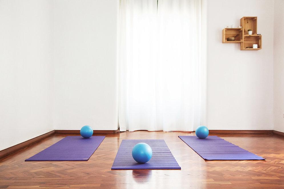 Estúdio de yoga