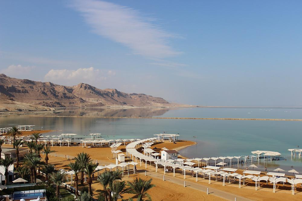 CK HAMIDI: soukromá pláž u Mrtvého moře