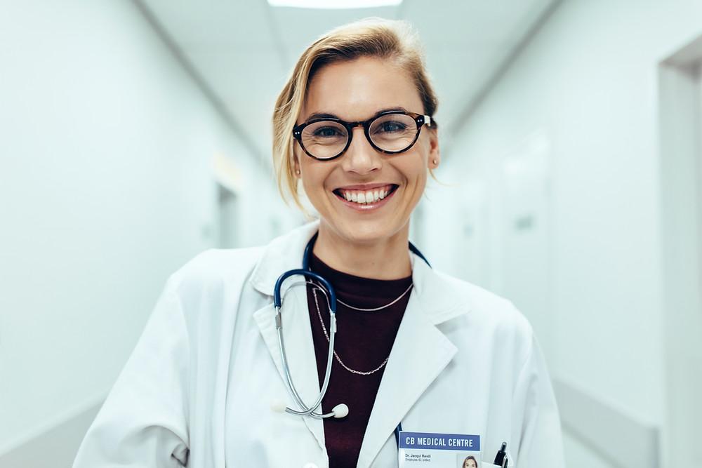 Symbolbild Ärztin