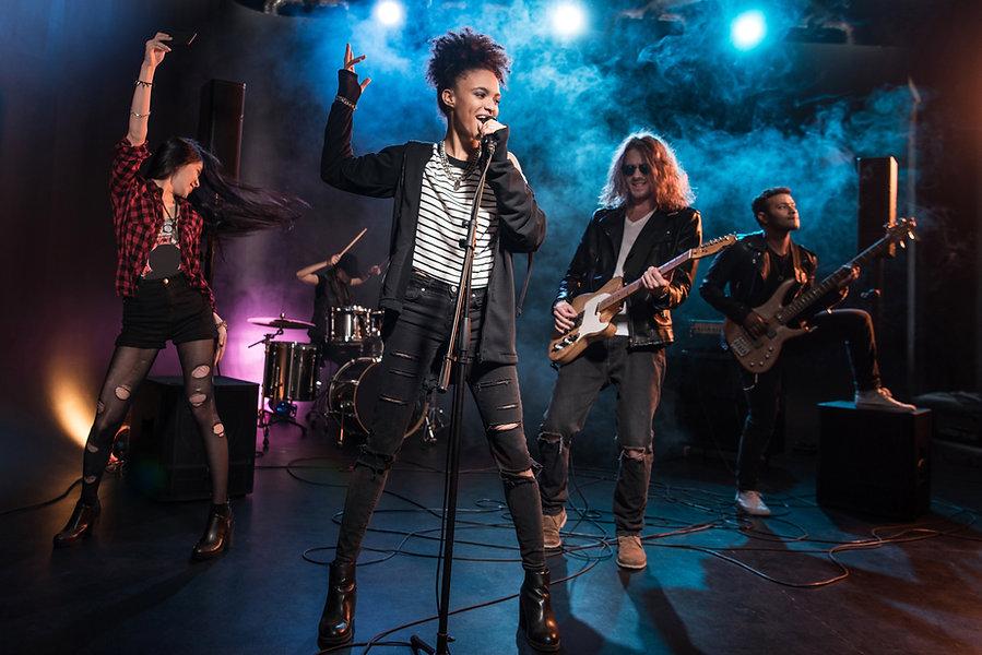 Rock Lead Singer