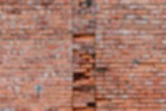 Pared de ladrillo oxidado