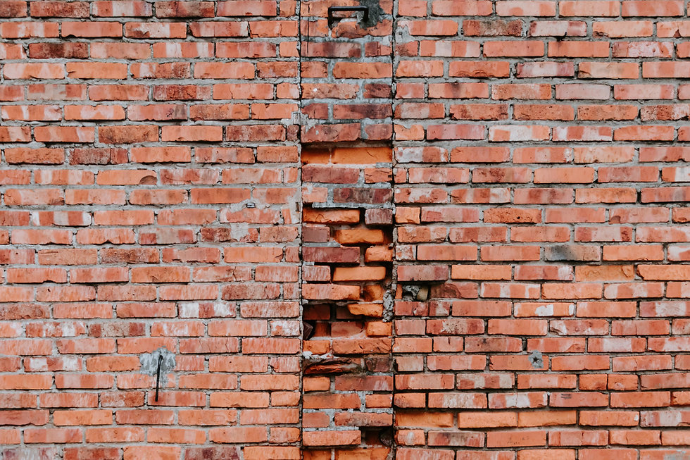 Rusty Brick Wall
