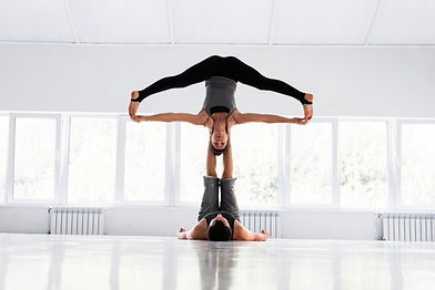 Acro Yoga Asana