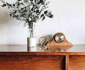 木製置時計