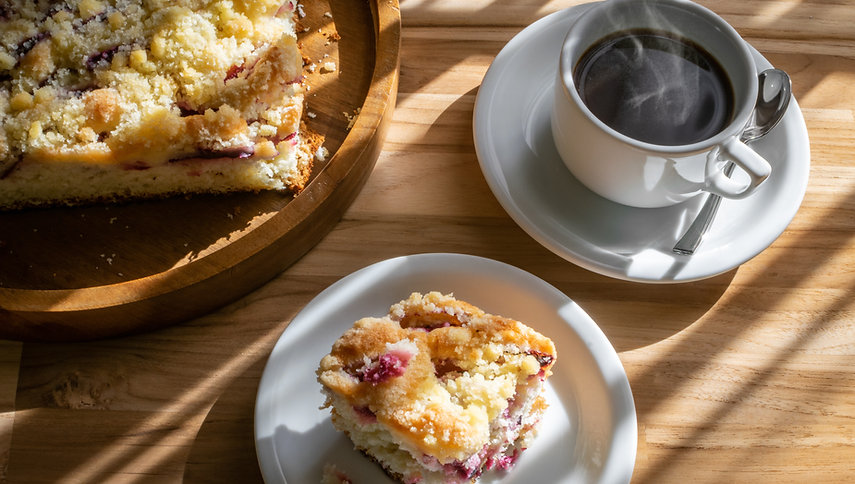 Sweet Breakfast Coffee by Post