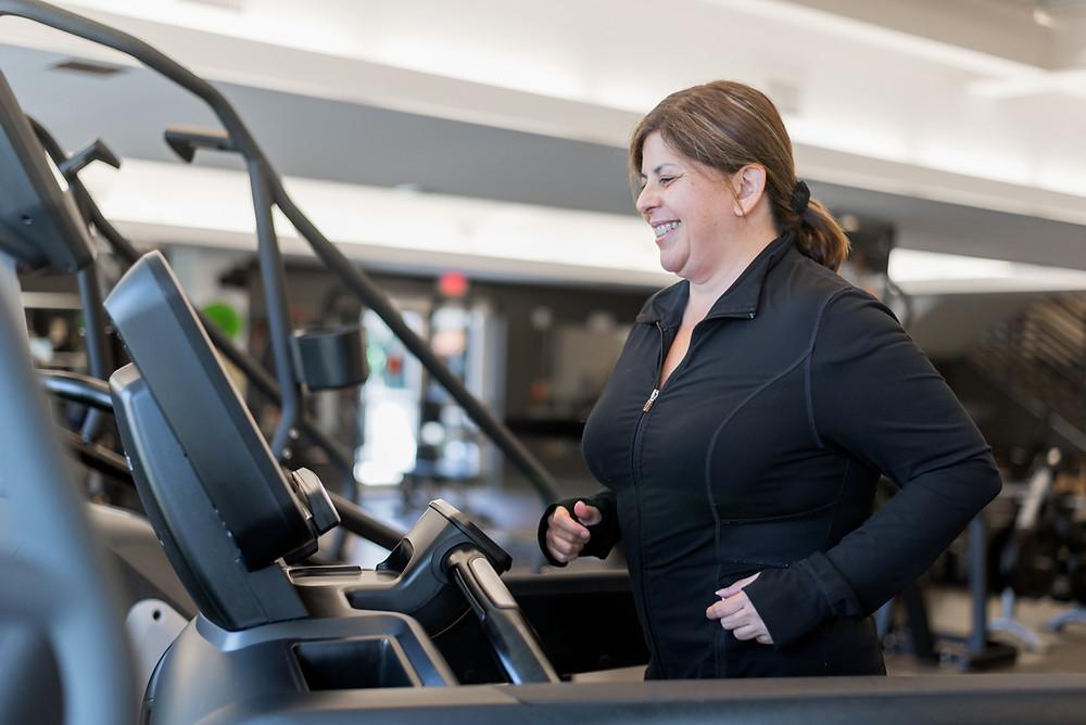 Postpartum Pregnancy Workout at GYM
