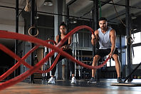Crossfit, Power Training Rope, Battle Ropes Gym