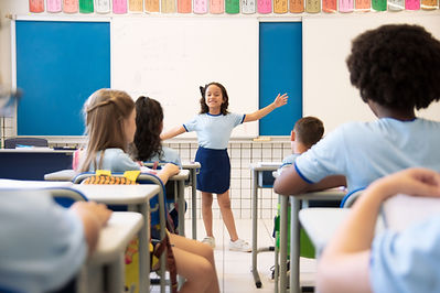 Apresentando em aula