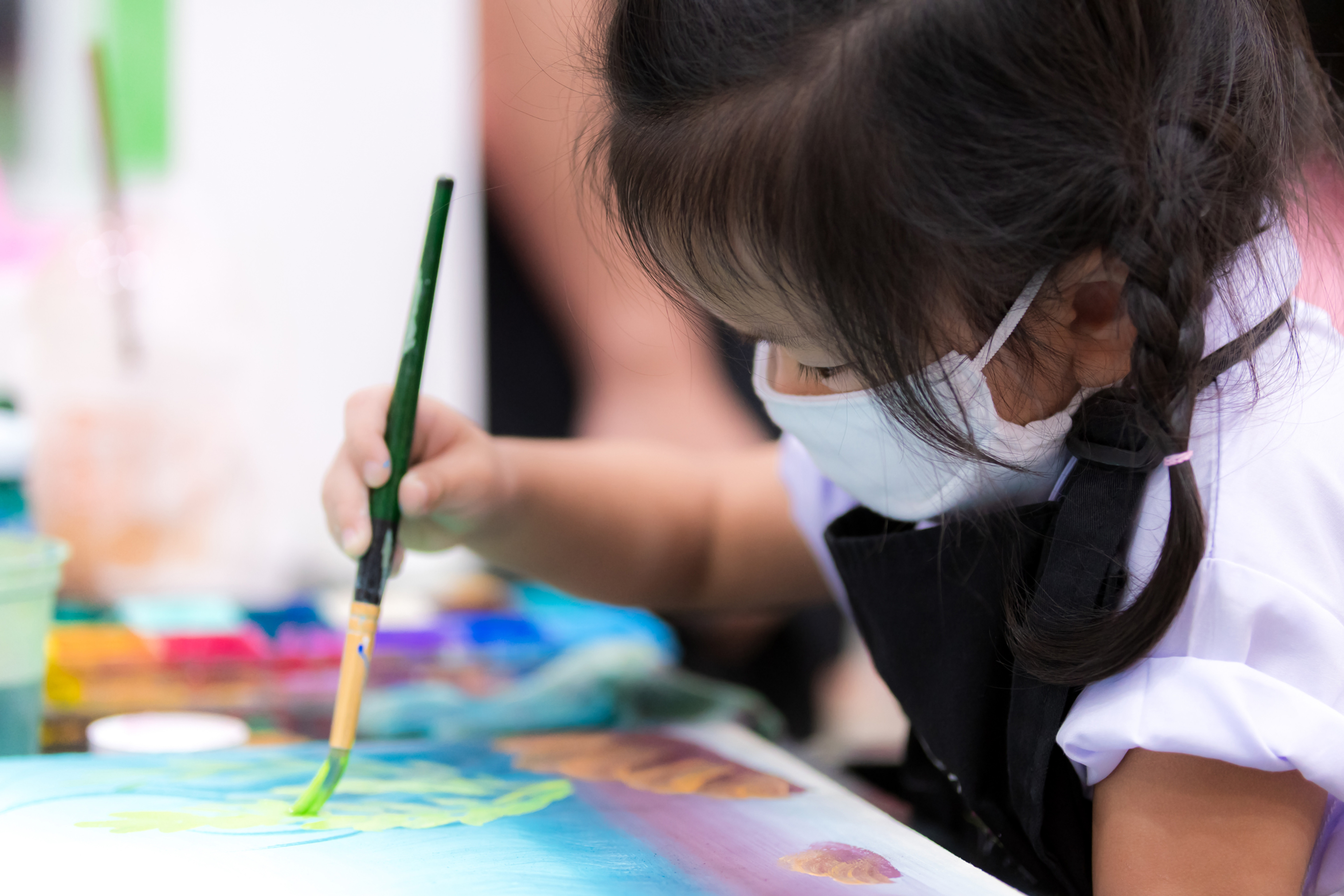 Painting Birthday Parties (ages 5-up)