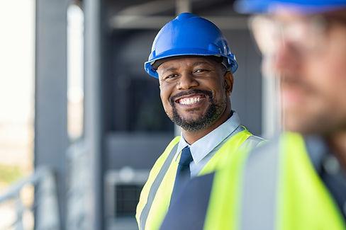 Portrait de construction