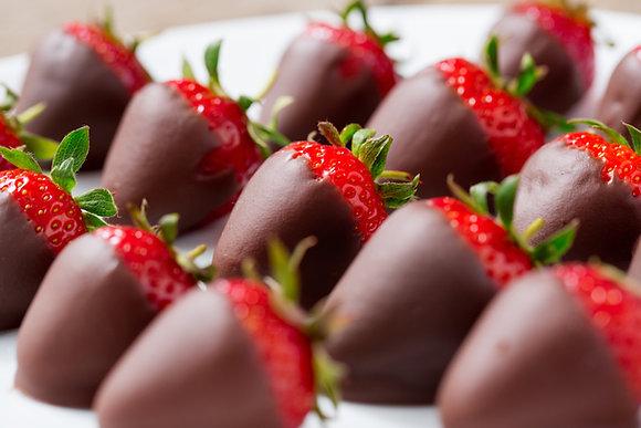 Chocolate Covered Strawberries (half dozen)