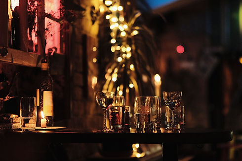 Bar på natten