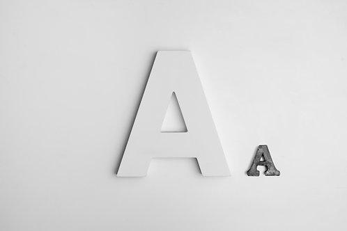 3-D Letters
