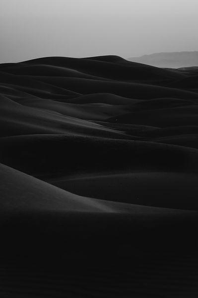 Desert in Dark