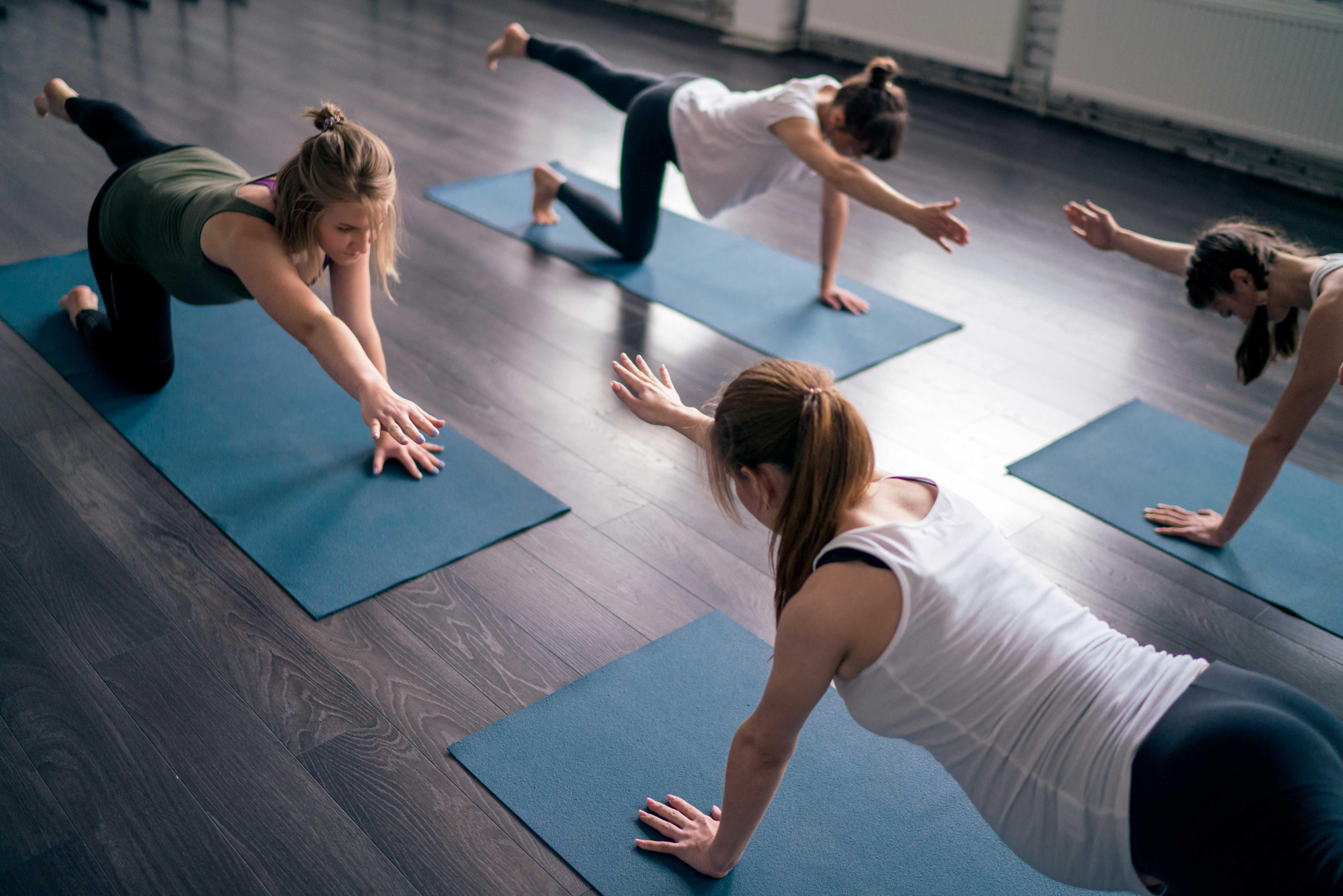 Pilates mat-work Thursdays  6.30pm