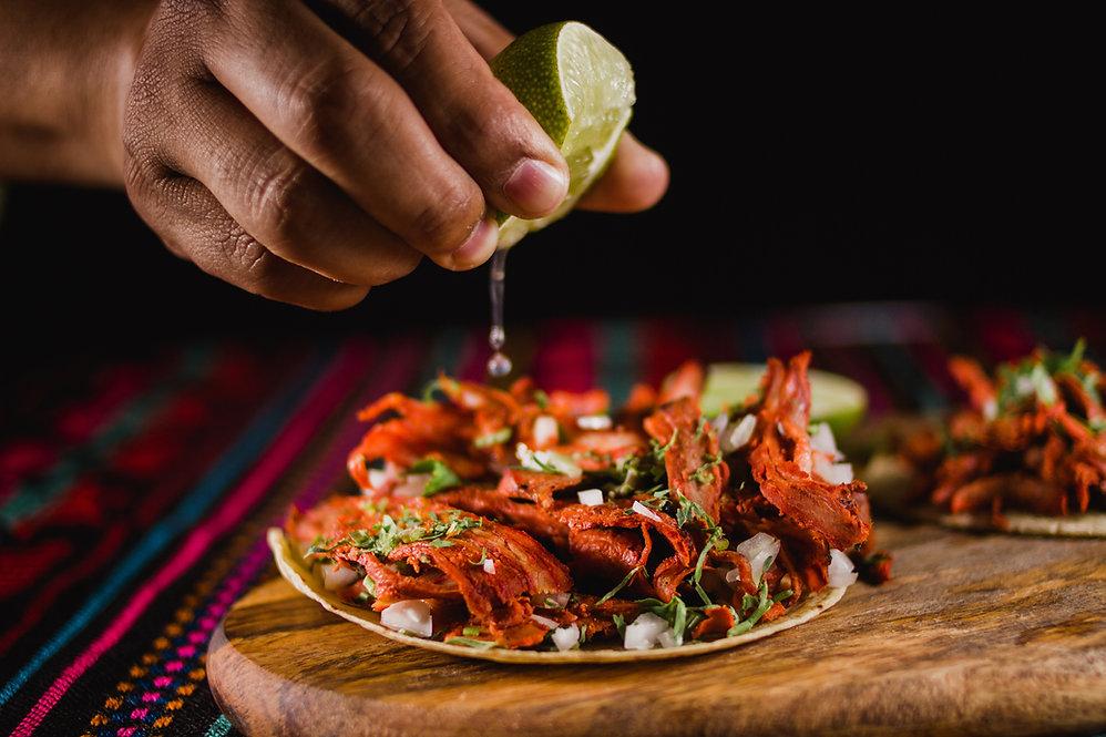 Taco zubereiten