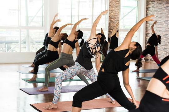 Yoga Gruppenpraxis