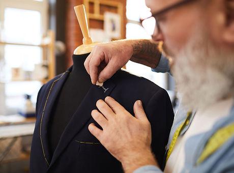 Man Designing Coat