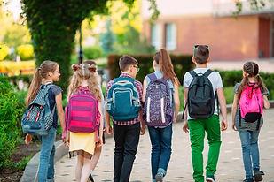 Schulausflug Kindergruppe