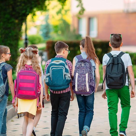 Neighborhood Block Party Back to School Supply Giveaway