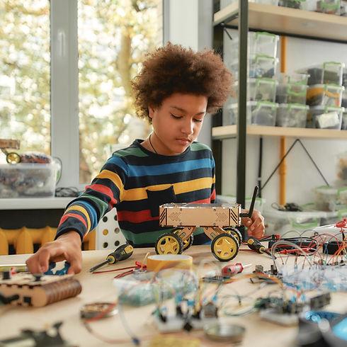 Building Robot Vehicle