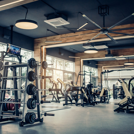 Gym upgrade in apartment complex in Bellevue.