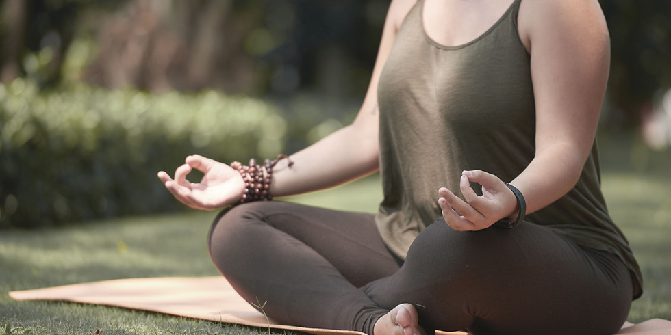 POP UP!  Outdoor Restorative Yoga w/ Guided Meditation